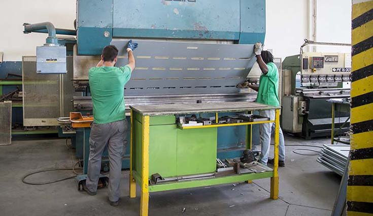 Anidas Steel Work Bending