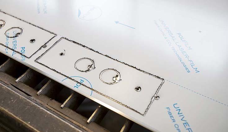 Anidas Steel Work Laser Cut
