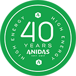 Anidas 40 Years Seal